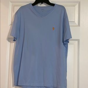 Ralph Lauren polo v neck tee